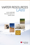 Water Resources Law book cover